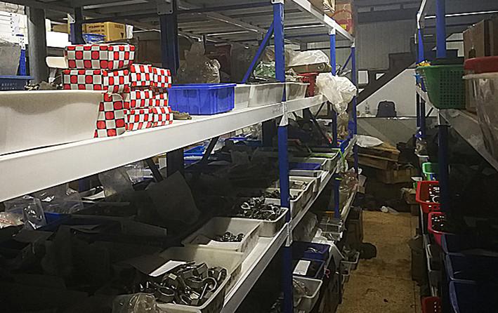 備品配件倉庫